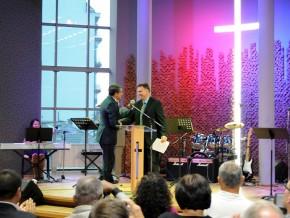 Плевнелиев: Евангелските баптистки църкви в България - неразделна част от усилията за разбирателство